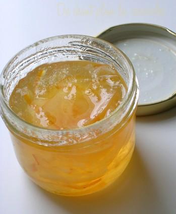 Recette de marmelade de citrons et bergamotes