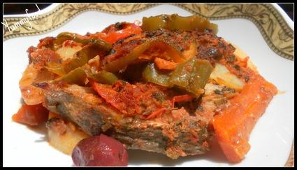 Recette de tajine de poisson à la marocaine