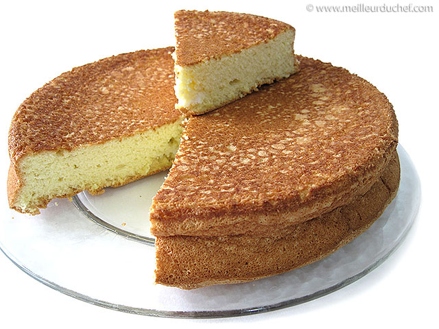 Biscuit de savoie  fiche recette avec photos  meilleurduchef.com