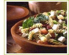 Recette salade de fusilli méditerranéenne