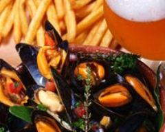 Recette moules marinières avec frites