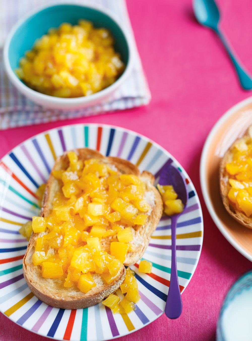 Confiture rapido mangue-ananas | ricardo