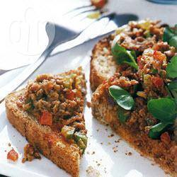 Recette toasts aux rillettes de sardines – toutes les recettes ...
