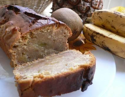 Recette de pain d'épices aux fruits exotiques caramélisés