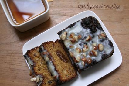 Recette de cake figues et noisettes