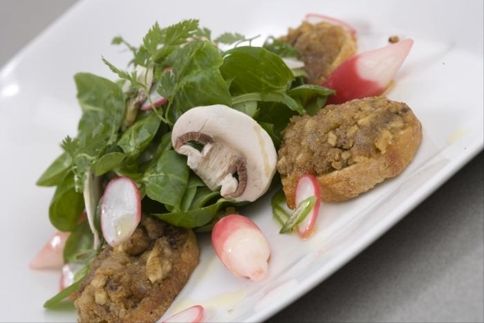 Recette de salade à 4 feuilles au foie gras facile et rapide