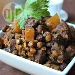 Recette ragoût de bœuf aux lentilles – toutes les recettes allrecipes