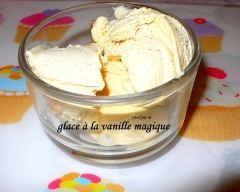 Recette glace à la vanille magique