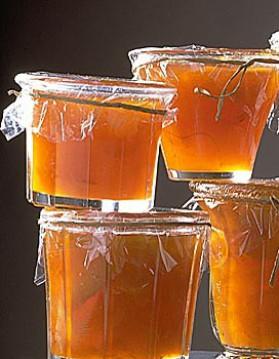 Confiture d'abricot aux oranges et aux amandes pour 4 personnes ...
