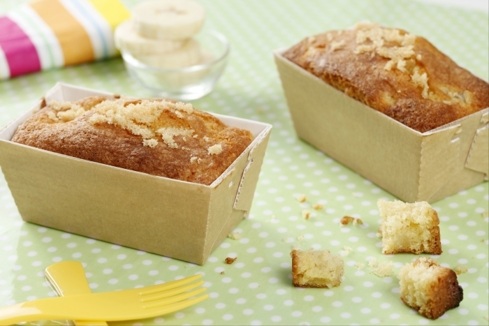 Recette de cake moelleux à la banane facile et rapide