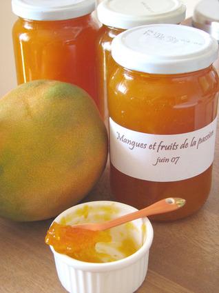 Recette de confiture de mangues et fruits de la passion