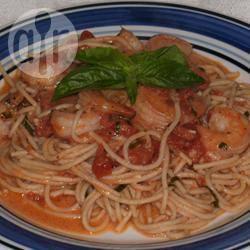 Recette pâtes et sauce rosée aux crevettes – toutes les recettes ...