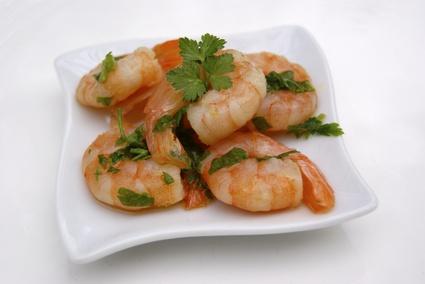 Recette de crevettes marinées à l'huile d'olive et au citron