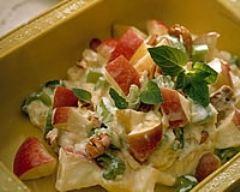 Recette salade de céleri et de pommes à la menthe