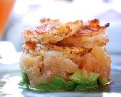 Recette cocktail de pamplemousse aux crevettes