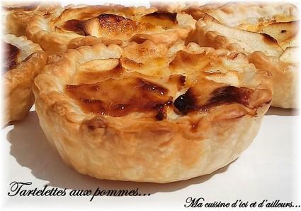 Recette de tartelettes aux pommes à la ricotta