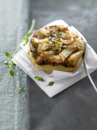 Recette de tatin au foie gras