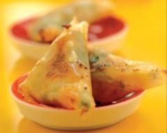 Recette samossas de thon aux légumes