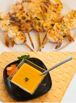 Recette de soupe froide de carotte, orange & coriandre et ...