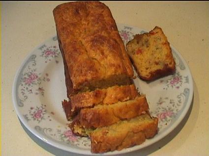 Recette de cake aux légumes de ratatouille