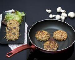 Recette rösti de pommes de terre aux champignons