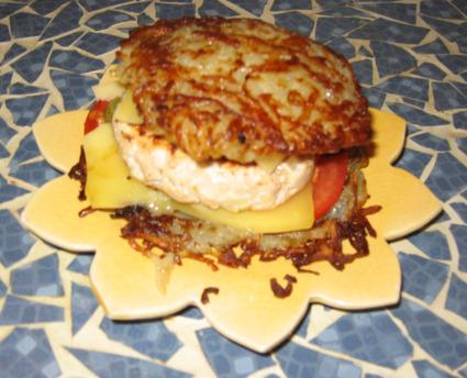 Recette de hamburger maison sans pain