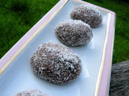 Recette de perles chocolat-coco