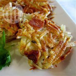 Recette galettes de pommes de terre au bacon – toutes les recettes ...