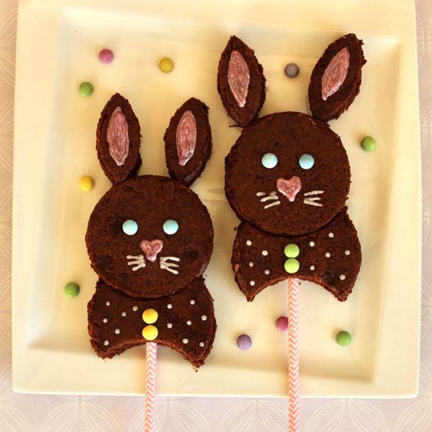 Recette petits gâteaux lapins de pâques