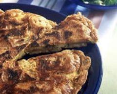 Recette omelette aux pommes de terre et au persil
