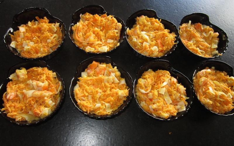 Recette gratin de crevettes aux carottes économique et simple ...