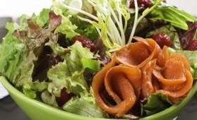 Salade de châtaignes au haddock fumé pour 10 personnes ...