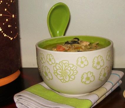 Recette de soupe chinoise au lait de coco