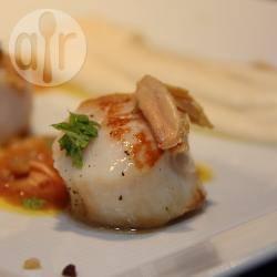 Recette saint jacques poêlées au foie gras – toutes les recettes ...