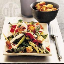 Recette asperges et poivrons grillés – toutes les recettes allrecipes
