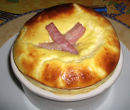 Recette de gratin de jambon au fromage blanc