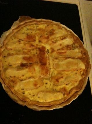 Recette tarte au maroilles facile pour 4 personnes