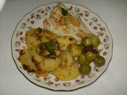 Recette de morue fraîche grillée et ses légumes