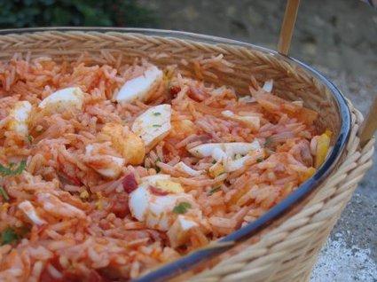 Recette de riz de thon à la tomate