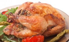 Caille rôtie et farcie à l'ancienne au foie gras frais pour 6 personnes ...
