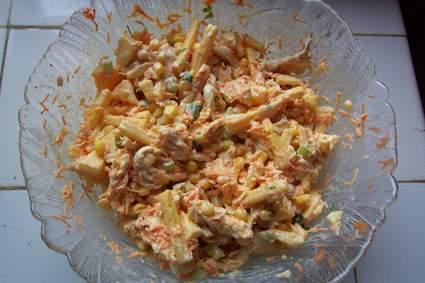 Recette de salpicao : salade brésilienne