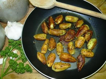 Recette de pommes de terre à la sarladaise