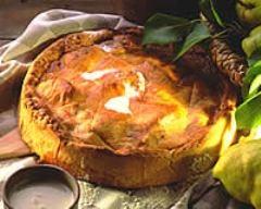 Recette tarte poires-kiwis