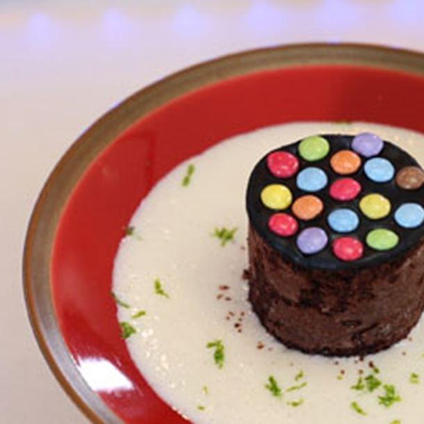 Recette gâteau au chocolat surprise et milk-shake à la banane