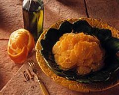 Recette salade d'oranges douce-amère