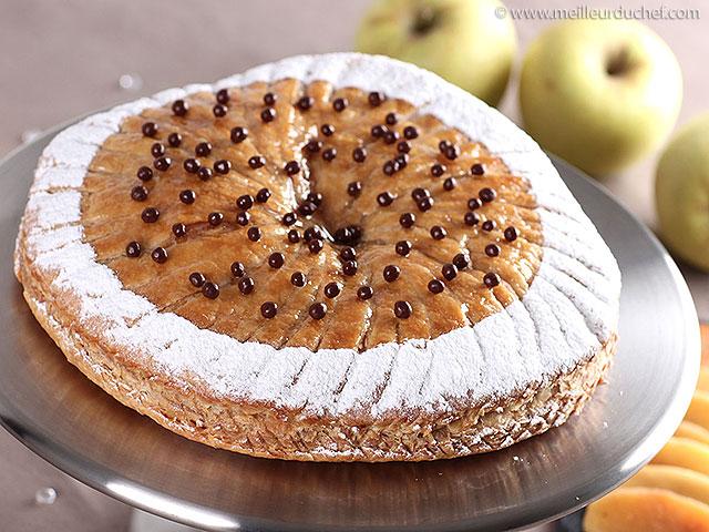 Galette des rois au caramel et aux pommes  recette de cuisine ...