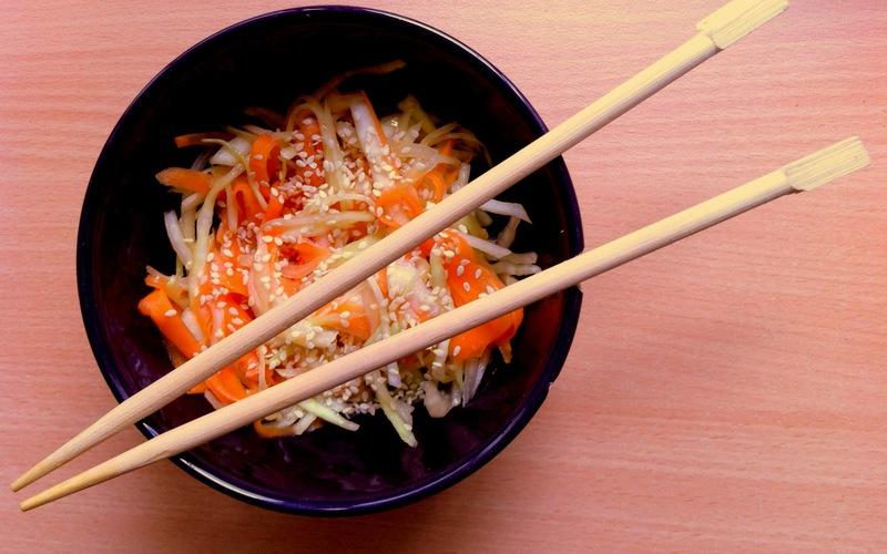 Recette salade de chou à la japonaise pas chère et facile > cuisine ...
