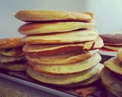 Recette pancakes gonflés à souhait