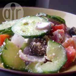 Recette authentique salade grecque – toutes les recettes allrecipes
