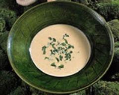 Recette crème de champignons des bois